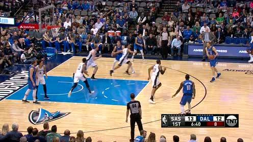 2019年03月13日NBA常规赛 马刺VS独行侠 全场录像回放视频