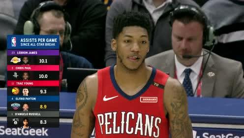 2019年03月07日NBA常规赛 爵士VS鹈鹕 全场录像回放视频