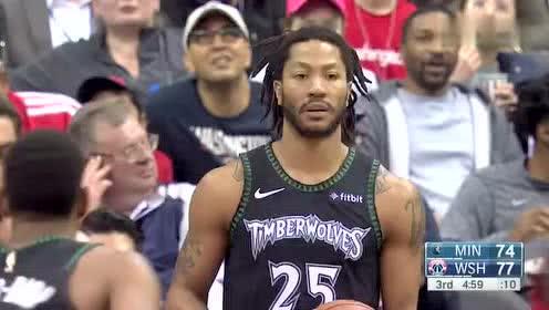 2019年03月04日NBA常规赛 森林狼VS奇才 全场录像回放视频