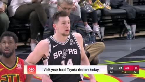 2019年03月07日NBA常规赛 马刺VS老鹰 全场录像回放视频