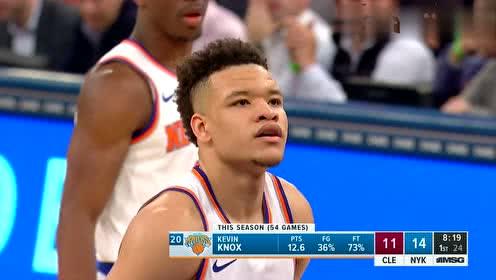 2019年03月01日NBA常规赛 骑士VS尼克斯 全场录像回放视频