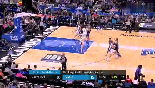 2019年03月09日NBA常规赛 独行侠VS魔术 全场录像回放视频