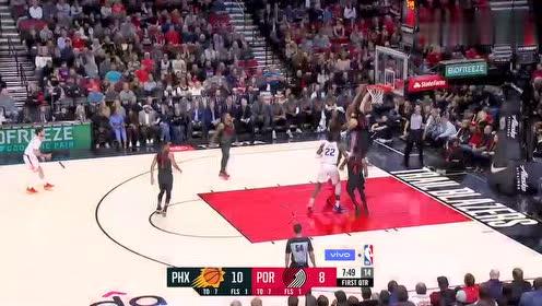 2019年03月10日NBA常规赛 太阳VS开拓者 全场录像回放视频