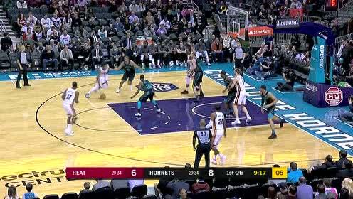 2019年03月07日NBA常规赛 热火VS黄蜂 全场录像回放视频