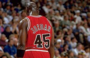 NBA人物志丨迈克尔乔丹,闪耀魔术双子星,送巅峰乔丹唯一败绩