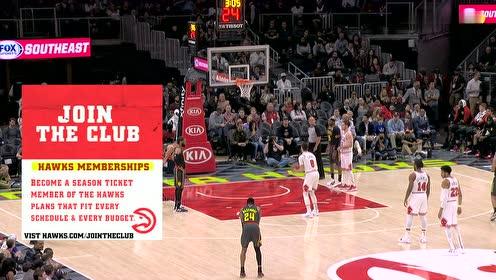 2019年03月02日NBA常规赛 公牛VS老鹰 全场录像回放视频