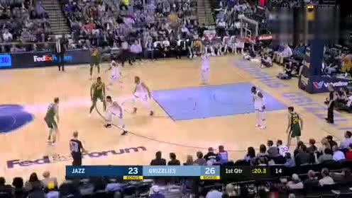 2019年03月09日NBA常规赛 爵士VS灰熊 全场录像回放视频
