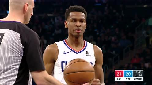 2019年03月25日NBA常规赛 快船VS尼克斯 全场录像回放视频