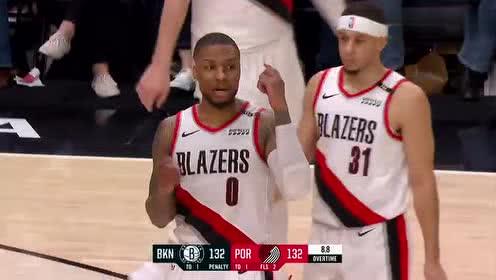 2019年03月26日NBA常规赛 篮网VS开拓者 全场录像回放视频