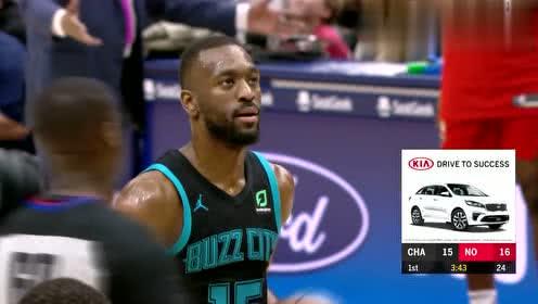 2019年04月04日NBA常规赛 黄蜂VS鹈鹕 全场录像回放视频