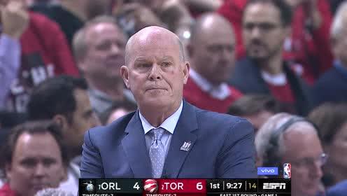 2019年04月14日NBA季后赛 魔术VS猛龙 全场录像回放视频