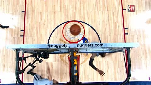 约基奇化身球场大脑 穆雷球到人到上篮打成2+1