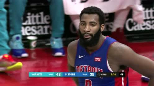 2019年04月08日NBA常规赛 黄蜂VS活塞 全场录像回放视频