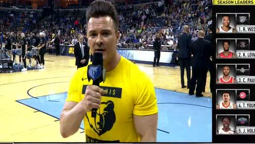 2019年04月11日NBA常规赛 勇士VS灰熊 全场录像回放视频
