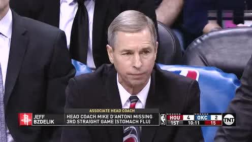 2019年04月10日NBA常规赛 火箭VS雷霆 全场录像回放视频