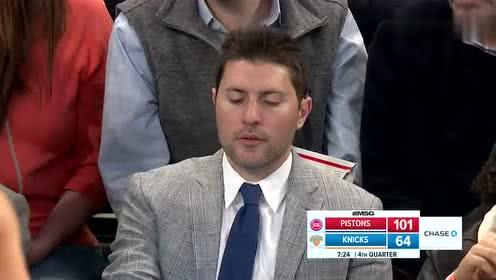 [原声回放]活塞vs尼克斯第4节 活塞队大胜尼克斯锁定季后赛