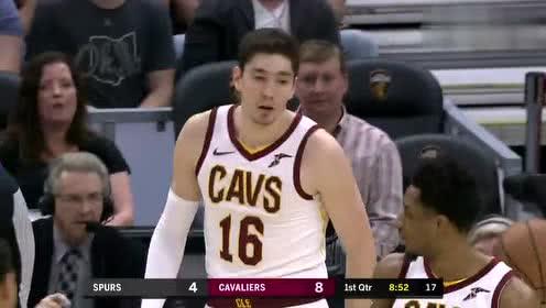 2019年04月08日NBA常规赛 马刺VS骑士 全场录像回放视频