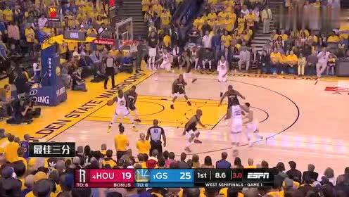 2019年04月29日NBA季后赛 火箭VS勇士 全场录像回放视频