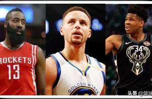 NBA三足鼎立,火箭有哈登,雄鹿有一星四射,勇士四星,谁总冠军