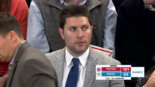 [回放]活塞vs尼克斯第4节 活塞队大胜尼克斯锁定季后赛