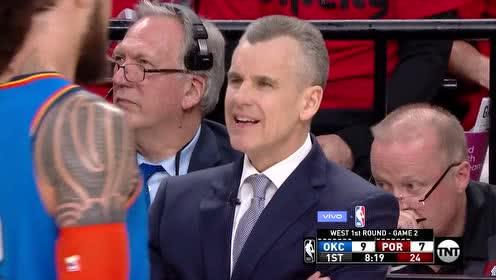 2019年04月17日NBA季后赛 雷霆VS开拓者 全场录像回放视频