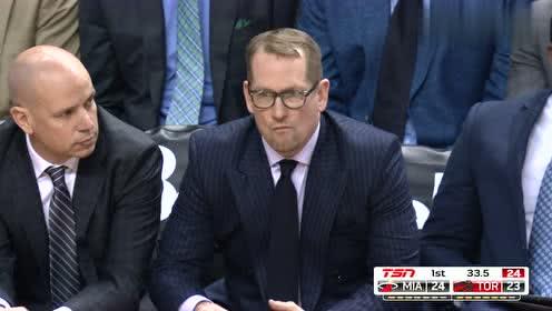 2019年04月08日NBA常规赛 热火VS猛龙 全场录像回放视频