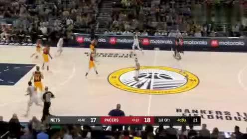 2019年04月08日NBA常规赛 篮网VS步行者 全场录像回放视频