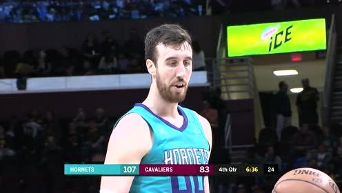 2019年04月10日NBA常规赛 黄蜂VS骑士 全场录像回放视频