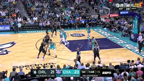 2019年04月11日NBA常规赛 魔术VS黄蜂 全场录像回放视频