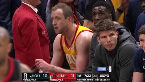 2019年04月21日NBA季后赛 火箭VS爵士 全场录像回放视频