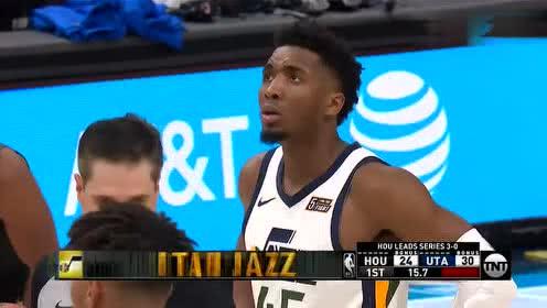 2019年04月23日NBA季后赛 火箭VS爵士 全场录像回放视频