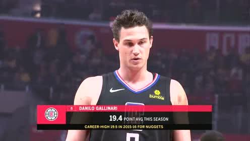 2019年04月06日NBA常规赛 湖人VS快船 全场录像回放视频