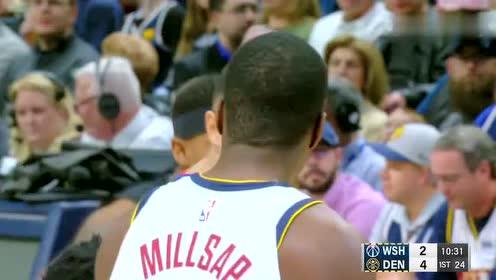 2019年04月01日NBA常规赛 奇才VS掘金 全场录像回放视频