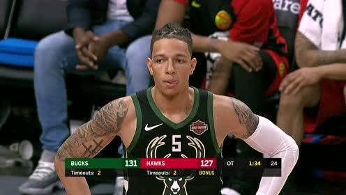 2019年04月01日NBA常规赛 雄鹿VS老鹰 全场录像回放视频