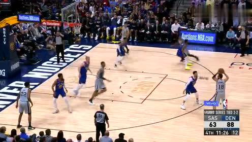 2019年04月24日NBA季后赛 马刺VS掘金 全场录像回放视频