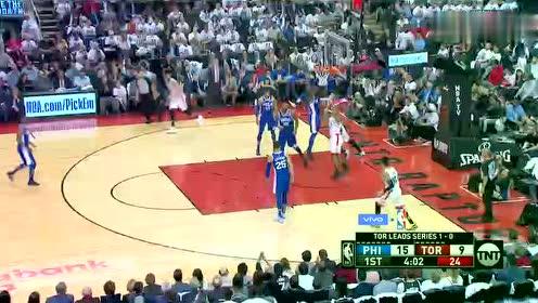 2019年04月30日NBA季后赛 76人VS猛龙 全场录像回放视频