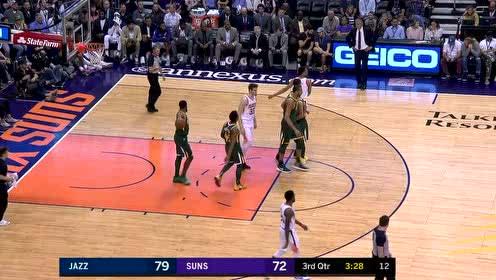 2019年04月04日NBA常规赛 爵士VS太阳 全场录像回放视频