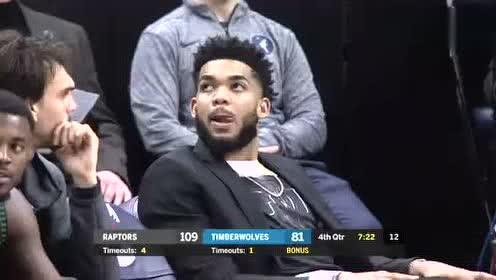 2019年04月10日NBA常规赛 猛龙VS森林狼 全场录像回放视频