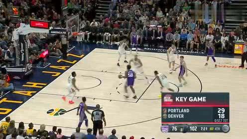 2019年04月06日NBA常规赛 国王VS爵士 全场录像回放视频