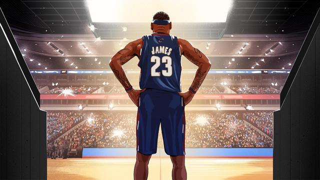 """体育画报NBA人物志:""""抱团""""毁一生?揭秘22岁詹"""