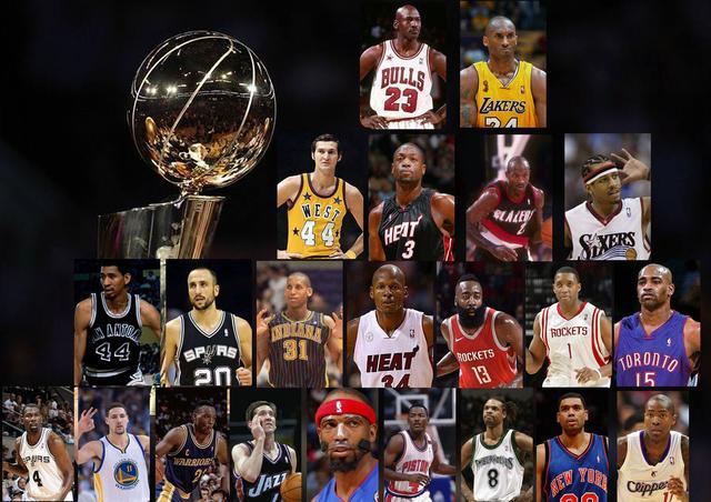 五棵松体育馆NBA历史得分后卫金字塔