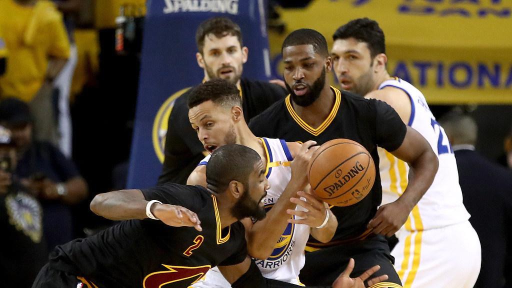 2017年NBA总决赛录像G2 骑士vs勇士 第二场 全场录像回放