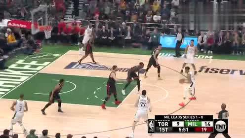 2019年NBA东部决赛G2第二场 雄鹿VS猛龙 全场录像回放