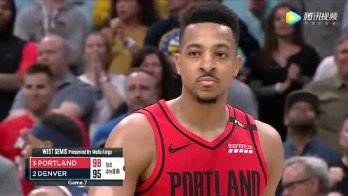2019年05月13日NBA季后赛 开拓者VS掘金 全场录像回放视频