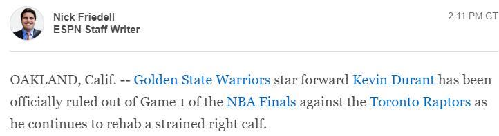 """1996年NBA选秀""""到底希不希望杜兰特复出"""