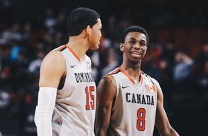 有戏?加拿大男篮官方转发威金斯与唐斯邀请赛上的合照