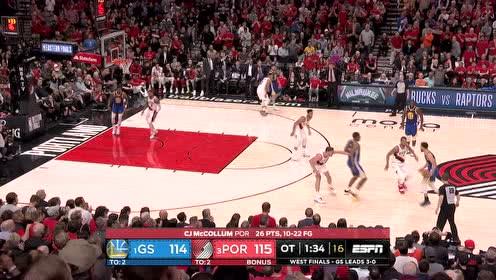 控制篮板赢得比赛 麦金尼前场板补篮反超