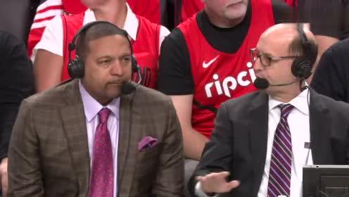 2019年NBA西部决赛G3第三场 勇士VS开拓者 全场录像回放视频