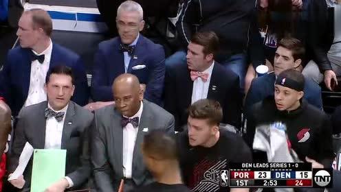 2019年05月02日NBA季后赛 开拓者VS掘金 全场录像回放视频