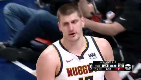 2019年05月08日NBA季后赛 开拓者VS掘金 全场录像回放视频